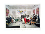 Signing the Declaration of Independence  July 4th  1776 Engraved and Pub by Nathaniel Currier…