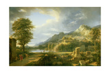 The Ancient Town of Agrigentum  1787