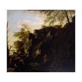 A Rocky Landscape C1640