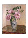 A Vase of Peonies  1875
