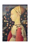 Portrait of Ginevra D'Este  C1436-38