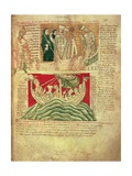 Ms Ccc 157 P383 the Visions Dreamt by King Henry I in Normandy in 1130  from the Worcester…
