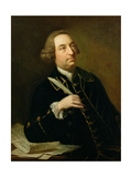 Portrait of John Christopher Smith (1712-95)  Musician and Amanuensis of Handel