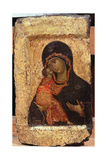 The Vladimir Madonna and Child  Russian Icon  Moscow School