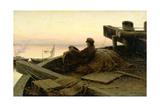 On the River Volga  1889