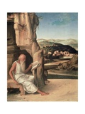 St Jerome Reading in a Landscape