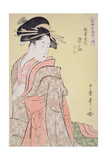 Somenosuke of Matsubaya  from the Series 'Array of Supreme Beauties of the Present Day'  C1794