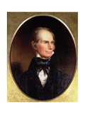Portrait of Henry Clay (1777-1852) Painted for His Election Campaign  1842
