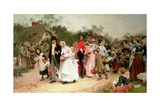 The Village Wedding  1883