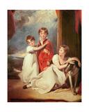 Portrait of the Fluyder Children  1805