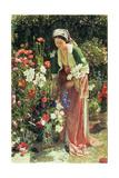 In the Bey's Garden  1865