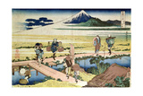 'Fuji Seen from Nakahara'  from the Series '36 Views of MtFuji' ('Fugaku Sanjurokkei')  Pub by…