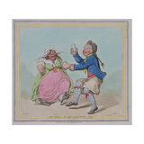 """My Poll and My Partner Joe""  Engraved by T Adams  Pub by Hannah Humphrey  1796"