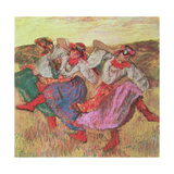 Three Dancers in Peasant Costume