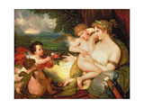 Venus Comforting Cupid Stung by a Bee  1813