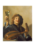 The Merry Lute Player  C1624-28