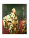 Portrait of George III (1738-1820) in His Coronation Robes  C1760