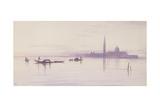 San Giorgio Maggiore from the Lagoon  Venice