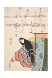 Ono No Kamachi  from the Series 'The Six Immortal Poets'  C1810