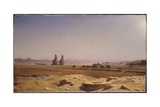 The Plain of Thebes in Upper Egypt  1857