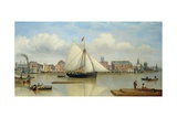 Hull from the Humber  C1837