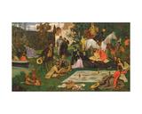 The Picnic (Dejeuner Sur L'Herbe)  C1865-68
