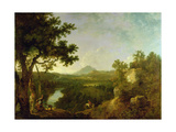 View Near Wynnstay  the Seat of Sir Watkin Williams-Wynn  1770-71