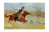 Galloping Horseman  C1890