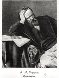 Portrait of Alexander Ivanovich Herzen (1812-70)