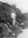Portrait of Arthur Rimbaud (1854-1891) at Harar  Ethiopia