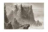 Dunluce Castle  County Antrim  Northern Ireland  from 'scenery and Antiquities of Ireland' by…