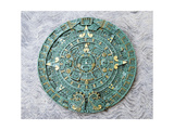 Souvenir Copy of the Great Calendar Stone  Aztec  16th Century
