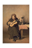 The Widowed Guitar Player  1865