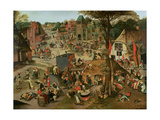 Village Festival in Honour of St Hubert and St Anthony  1632