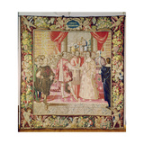 The Tapestry of Charles V Depicting the Marriage of Charles V to Isabella of Portugal in 1526 …