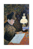 Woman by a Lamp  1890