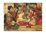 Geishas in an Interior  1894