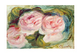 The Three Roses Giclée par Pierre-Auguste Renoir