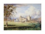 Balmoral Castle  C1840