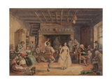 Dance in Farmhouse Kitchen