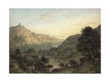 The Cascatelle and Villa of Maecenas Near Tivoli