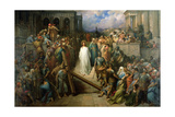 Christ Leaves His Trial  1874-80