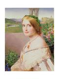 Portrait of Adelaide Mary  Mrs Philip Bedingfeld  1859