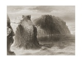 Carrick-A-Rede Rope Bridge  County Antrim  Northern Ireland  from 'scenery and Antiquities of…