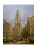 Antwerp Cathedral  1860