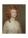 Portrait of a Young Woman  C1790