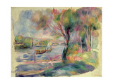 The Seine at Argenteuil  1892
