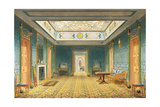 The Double Lobby or Gallery (South) Above the Corridor from Views of the Royal Pavilion  Brighton…
