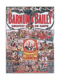 Poster Advertising the North American Circus 'Barnum and Bailey'  1912