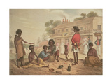 Natives of New South Wales as Seen in the Streets of Sydney  Plate 4 of Part 1 of 'Views in New…